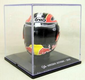 Altaya-1-5-Scale-Hiroshi-Aoyama-2009-Arai-Moto-GP-Helmet-with-Plinth-and-Case