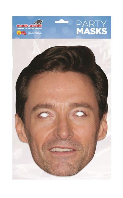 Hugh Grant Face Party Mask Card A4 Fancy Dress Movie Actor Film Ladies Men Kids