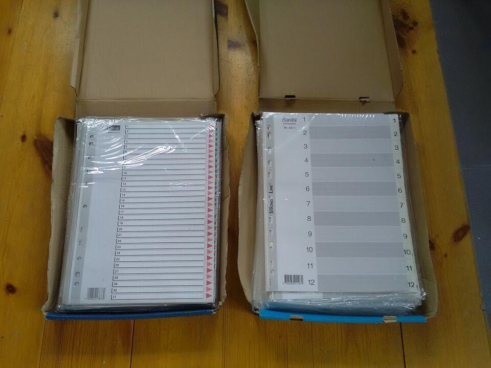 Register plastic A4