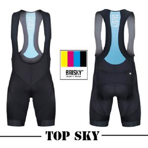 Baisky Sportswear-Cycling-Bib Shorts-Men-E.I.T. Chamois-Long tour-Top Sky