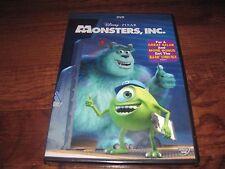 Monsters, Inc: Disney Pixar: Billy Crystal,John Goodman  (DVD,2013) Fast Shipper