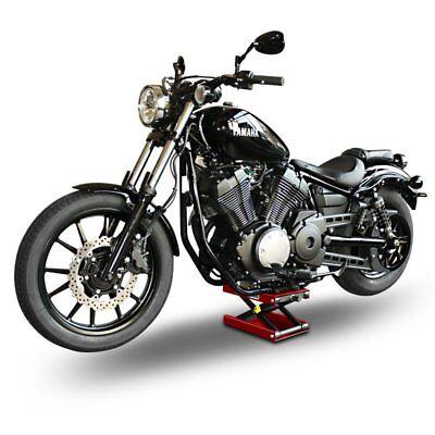 Cross Bones Hydraulisch Sicherung Blau Motorrad-Hebeb/ühne f/ür Harley Davidson Dyna Super Glide//Custom ConStands