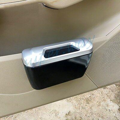 Trash Can Rubbish Waste Garbage Dust Box Bin Storage Car Interior Accessories