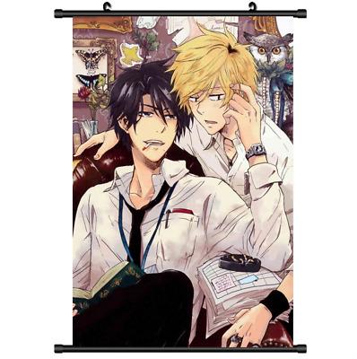 Yaoi Anime Hitorijime My Hero Wall Poster Scroll cosplay 3098