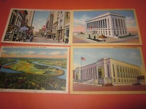 4-Vintage-1-Used-Dated-1947-Postcards-Tennessee-Themed-4