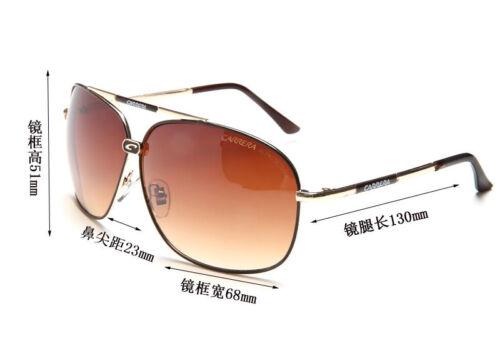 New Fashion Men Womens Retro Unisex Sunglasses Aviator Carrera Glasses Box LQ13