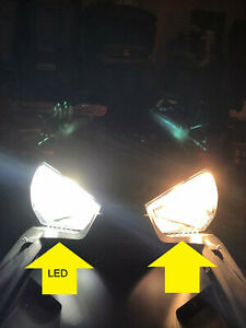 FOR-LED-Headlight-Conversion-Kit-for-the-Can-Am-Spyder-F3-SE6-Pair