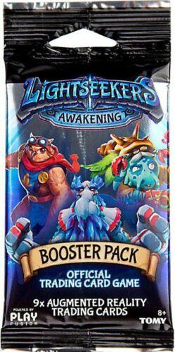 Lightseekers éveil Booster Pack 9 la réalité augmentée Trading Cards-Neuf
