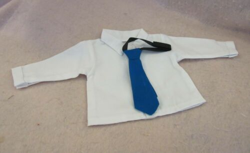 Dress Shirt /& Blue Tie fits American Boy Doll 18 Inch Clothes Seller lsful