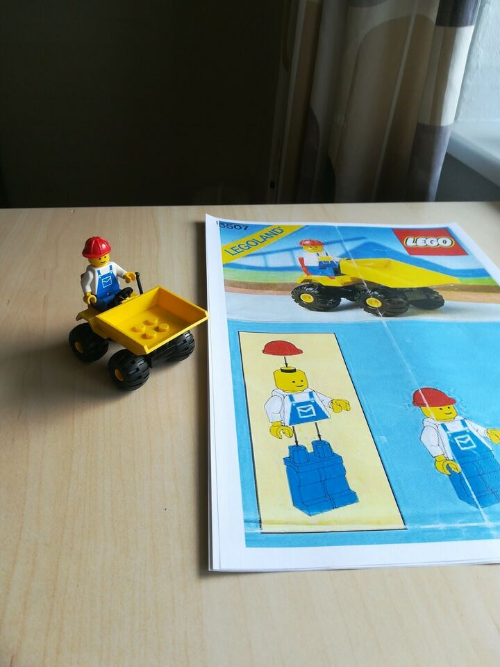 Lego andet, Mini dumper 6507
