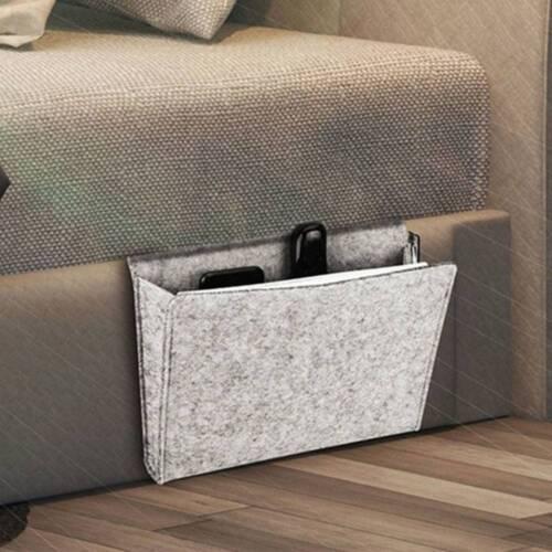 Sofa Armrest Organizer Bag Bedside Remote Control Storage Bag Holder Couch