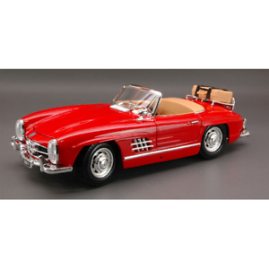Auto Stradali Die Cast MERCEDES 300 SL 1954 RED 1:18 Burago Modellino