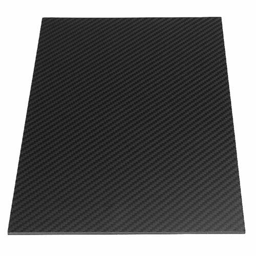3mm 100/% 3k Carbon Fiber Panel Sheet Plate 300x200x3mm Zero Fiberglass