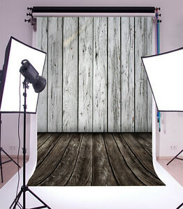 Studio 5x7ft Old Wood Wall Theme Photography Background Vinyl Photo Backdrop New