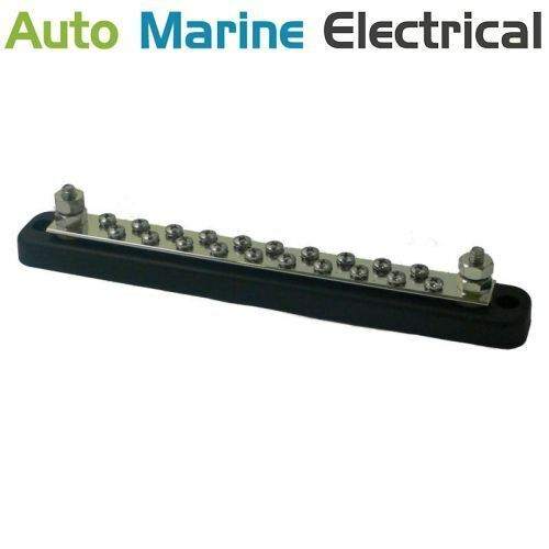 Auto /& Marine Power Distribution Bus Bar 20 Way Screw 150A