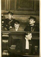 """""""Georges GAUCHET et Maitre CAMPINCHI 1931"""" Photo originale G. DEVRED (Agce ROL)"""