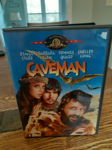 Caveman (DVD, 2002) RARE Ringo Starr Shelly Long Dennis ...