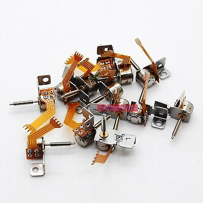 10PC Nidec 4 Wire 2 Phase Mimi stepper motor micro stepper motor D6mm with worm