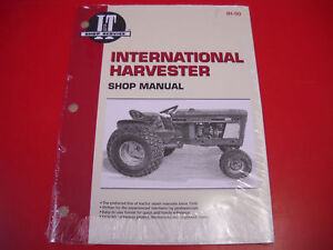 international i t service shop manual tractor cub loboy 154 184 185 rh ebay com Farmall Cub Transmission Farmall Cub Engine