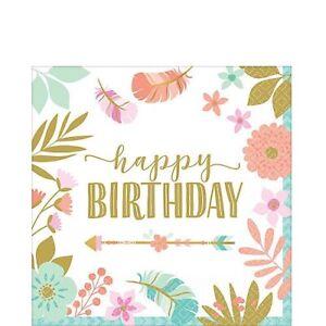 BOHO-BIRTHDAY-GIRL-BEVERAGE-SMALL-NAPKINS-PACK-OF-16-BIRTHDAY-PARTY-SUPPLIES