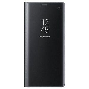 Original-Samsung-Clear-View-Standing-Cover-EF-ZN950-fuer-Galaxy-Note-8-Schwarz