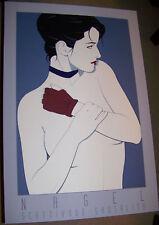 1985 PATRICK NAGEL SERIGRAPH NC6 80s LADY PRINT PLAYBOY DURAN DURAN ARTIST