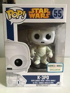 Funko-POP-Star-Wars-K-3P0-55-Barnes-amp-Noble-Exclusive-Bobble-Head-New