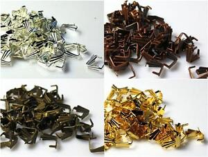 100-PENDANT-PINCH-BAILS-8mm-COLOUR-CHOICE-TOP-QUALITY