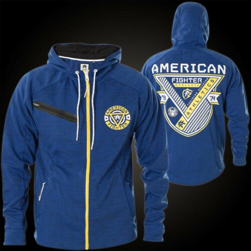 Cool Creepy By American Fighter Hoody Affliction Blue 8FUZIApxqw