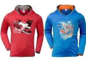 Boys-Girls-Unisex-Sports-Pocopiano-Thermal-Graphic-Sweatshirt-Hoodie-Age-5-14-Y
