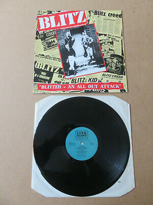 Blitz Blitzed An All Out Attack Link 1988 Uk 1st