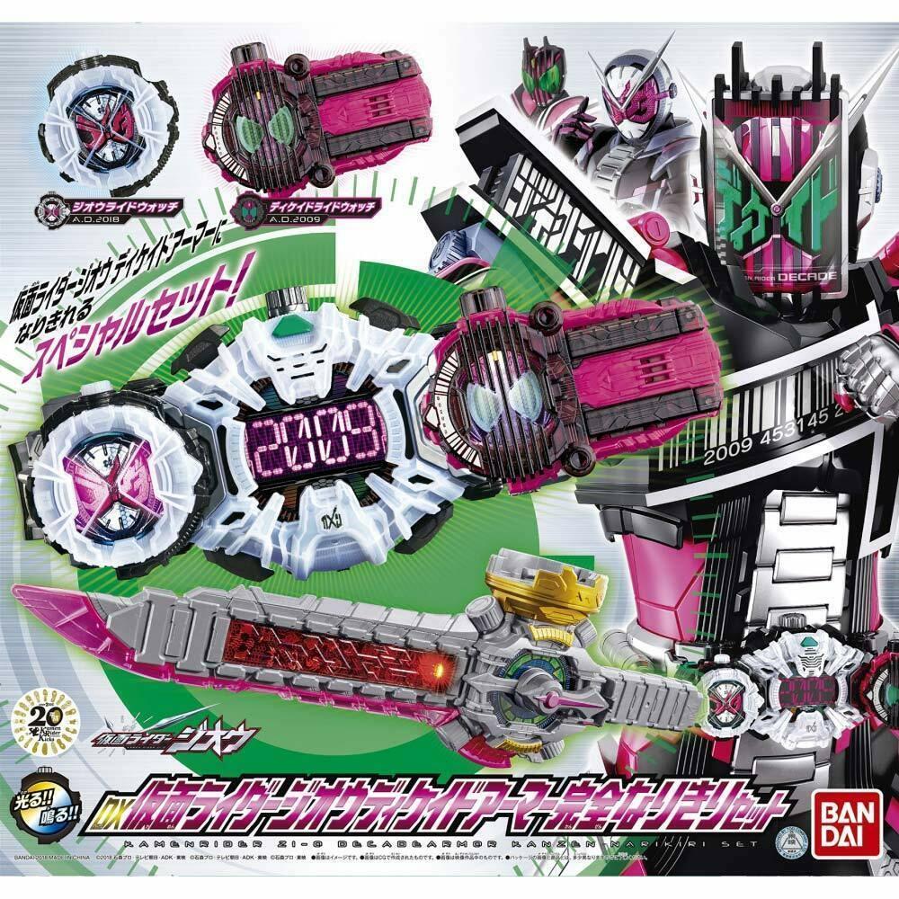 Bandai enmasCocheado Kamen Rider Zi-O DX década Armadura Conjunto Completo EMS con seguimiento Nuevo