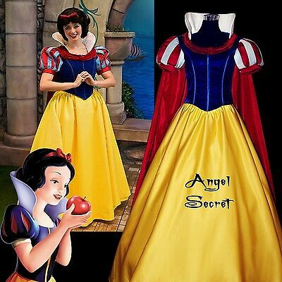 Disney Princess Supreme Snow White Costume Sz 5-6