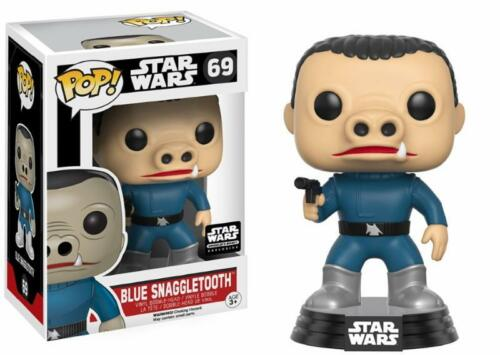 Vinyl Star Wars Blue Snaggletooth Smugglers Bounty Pop New exclusive in stock