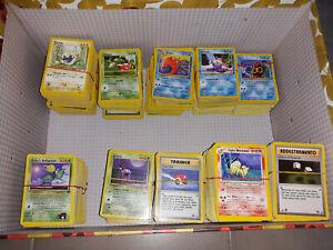 Lotto-45-carte-Pokemon-Set-Base-Jungle-Fossil-Rocket-Gym-Legendary-Neo-ecc