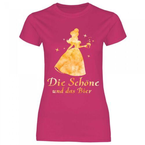 Royal Top a16 Donna T-shirt la bella e la birraFesta shirt proverbi SHIRT