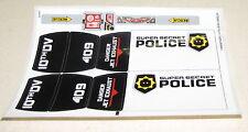 100/% LEGO Sticker sheet from Set 7286 Police Van New