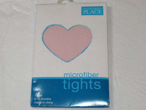 Girls Children/'s Place microfiber tights NEW 6-12M months Pink 92591907