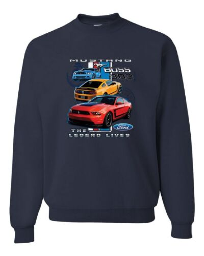 Ford Mustang The Legend Lives Sweatshirt  Sweater