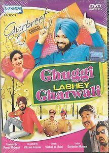 GHUGGI-LABHEY-GHARWALI-GURPREET-GHUGGI-HARPAL-NEW-BOLLYWOOD-PUNJABI-DVD