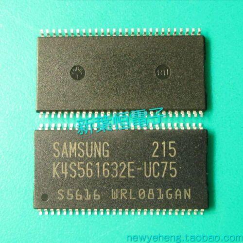 2pcs K4S561632E-TC75 K4S561632E-TC60 SAMSUNG New Original Memory Flash Memory