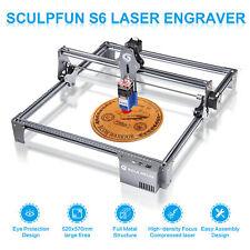 New Listingsculpfun S6 30w Laser Engraving Cutting Machine Wood Acrylic Laser Cutter Diy