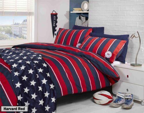 Stripey Duvet Quilt Comforter Cover Bedding Set Stripe Pillow Covers