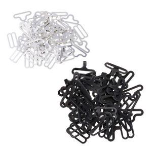 20 ensembles de matériel de noeud papillon agrafe de crochet en métal de