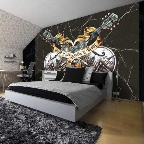Poster la fresque Papier peint papier peint Guitare MOURIR ROCK /'IT 56 3fx1084p4