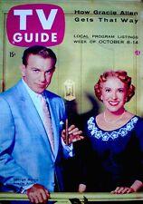 TV Guide 1955 Burns & Allen VTG V3N41 #132 Lucille Ball Desi Arnaz Grouch Marx
