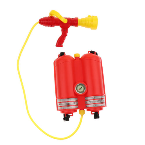 Role Play Toy Fireman Costume Fire Extinguisher Water Gun Kids Squirt Toy