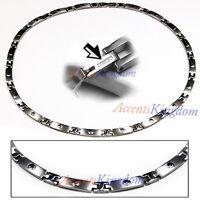 Accents Kingdom Men's Premium Titanium Magnetic Therapy Golf Necklace T1