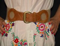 French Connection Belt Color Natural Wide Fun Size Medium