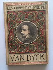 LES CHEFS D'OEUVRE DE VAN DYCK 1914 ILLUSTRE COLLECTION ART GOWANS N°2